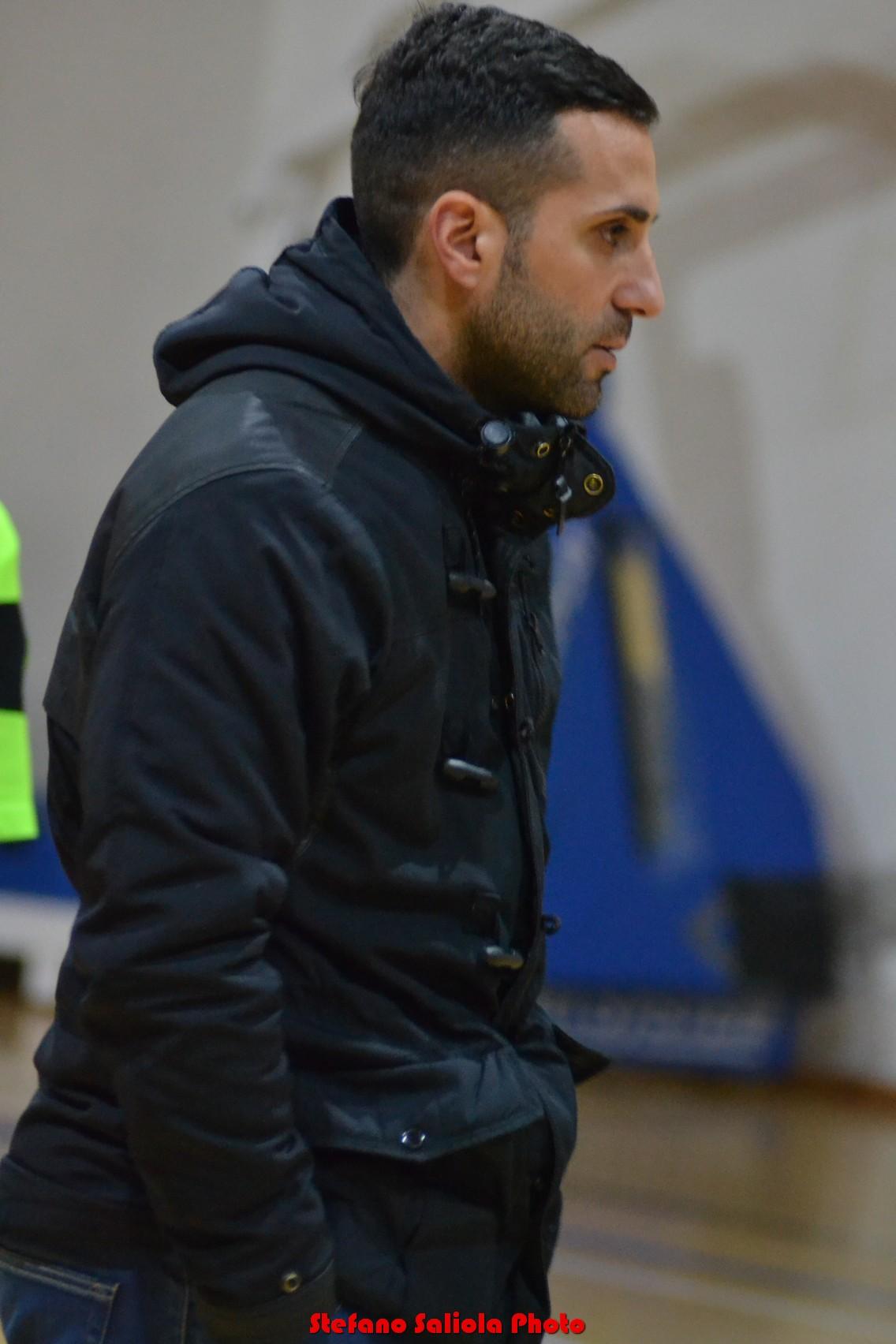 L'allenatore del castello matese Simeone