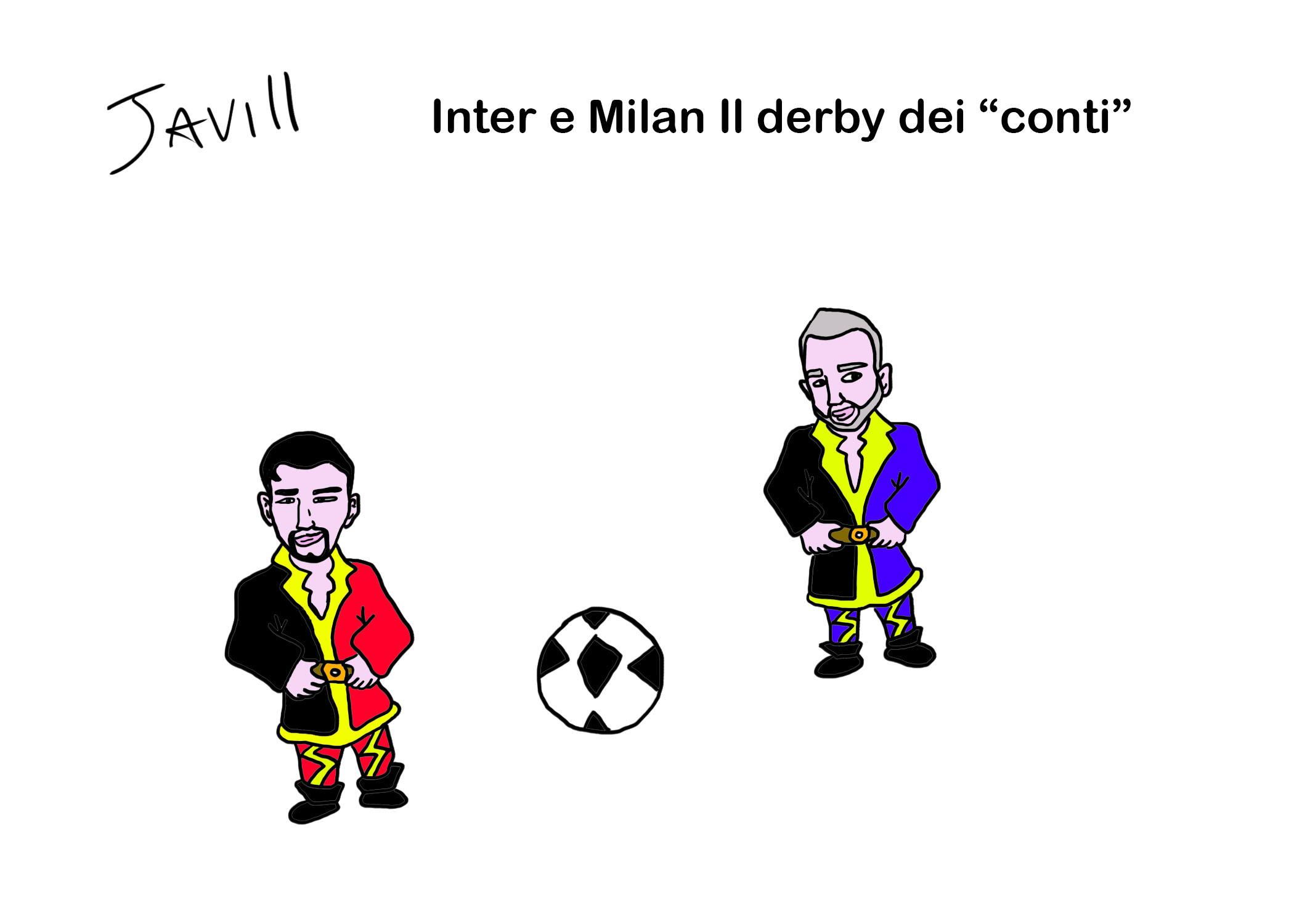 INTER E MILAN IL DERBY DEI CONTI
