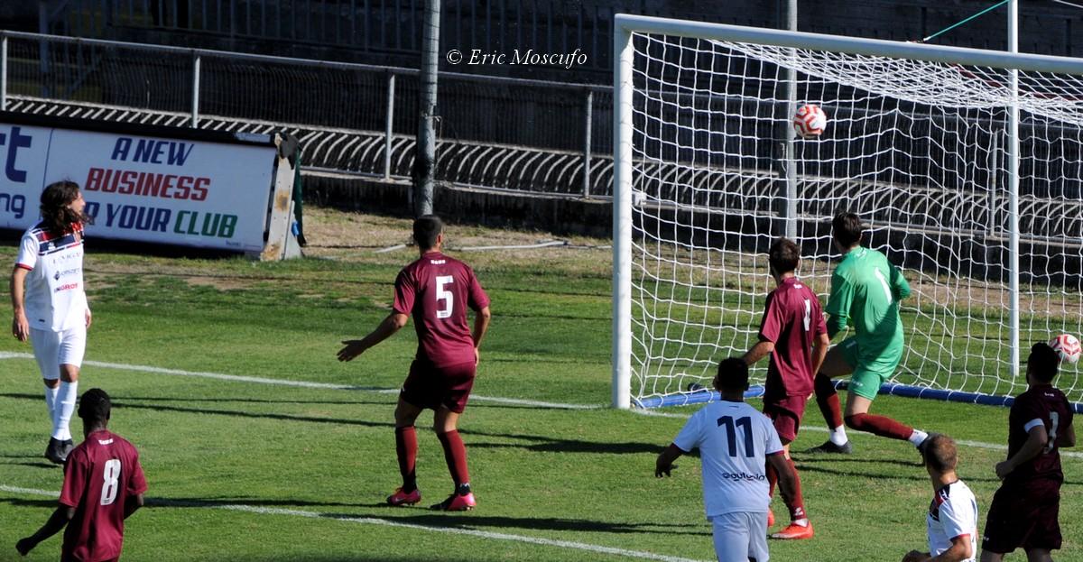 Il gol di Brenci per l'1-0