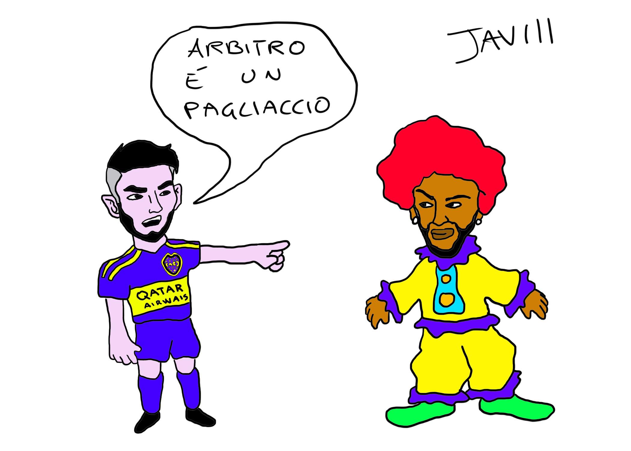 Zambrano accuse a Neymar E' un pagliaccio (2)