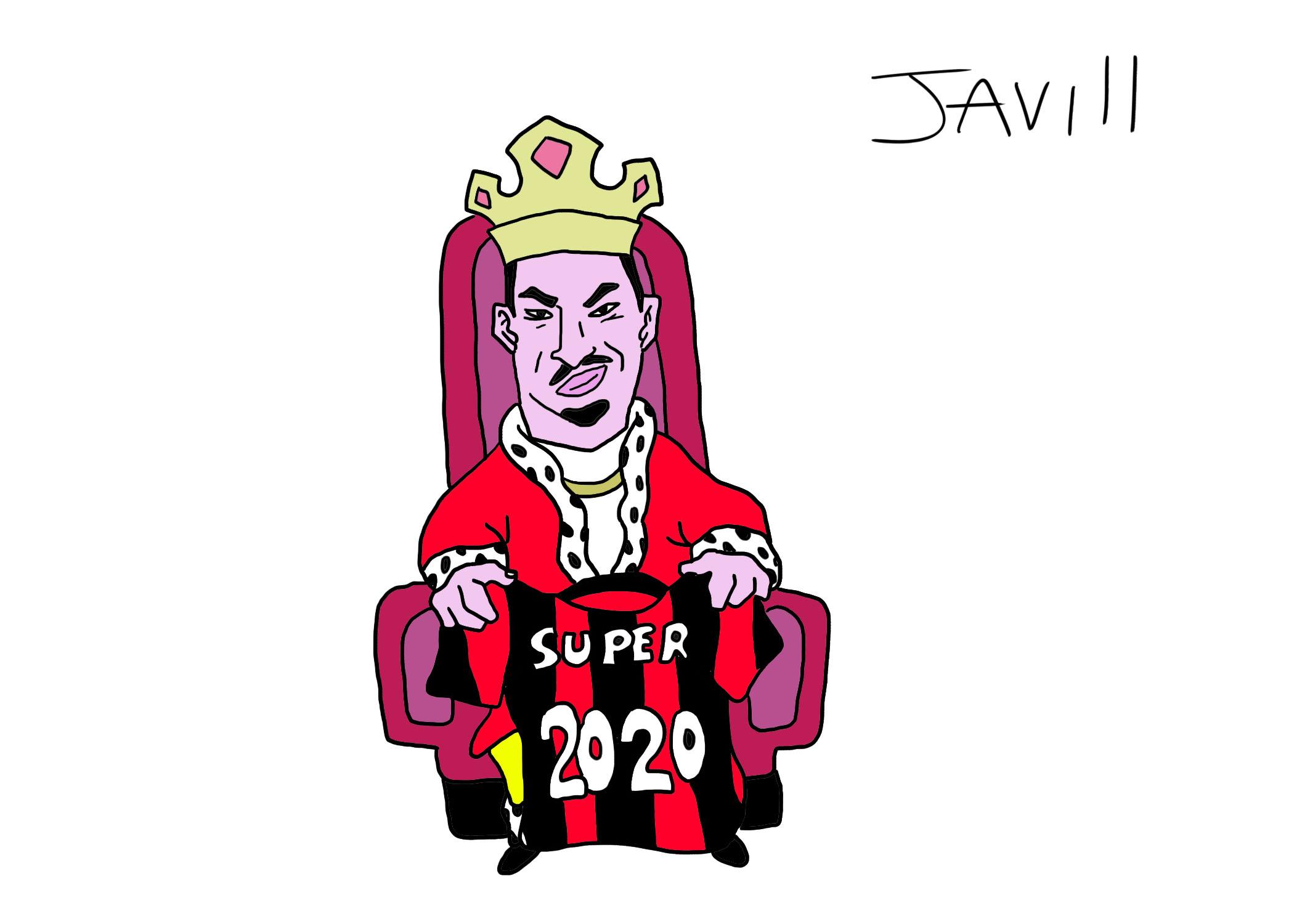 IBRA E IL SUO PAZZESCO 2020 UN ANNO DA RE