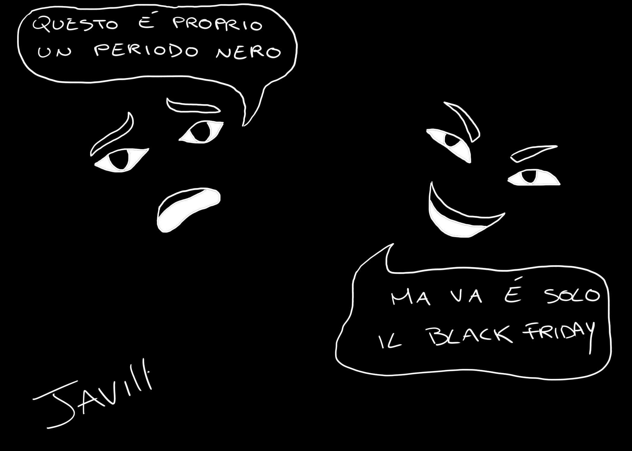VERSO IL BLACK FRIDAY