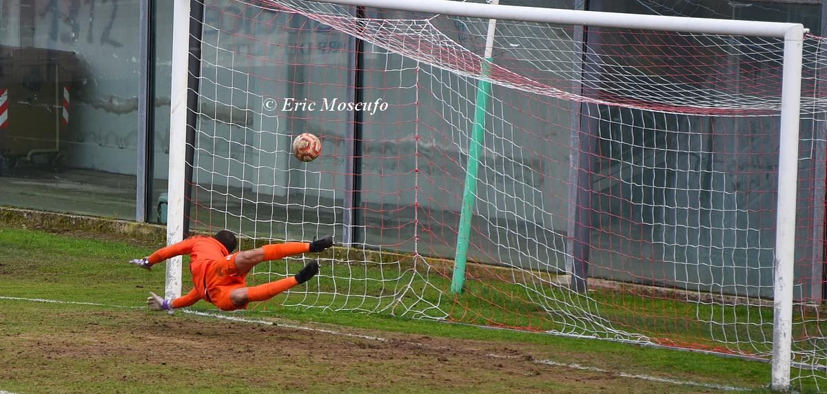 Il gol dell'1-1 di Valerio
