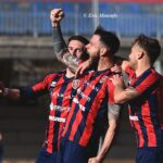 Calcio Serie D. Il Campobasso vola, vittoria nel segno del 'gladiatore' Dalmazzi