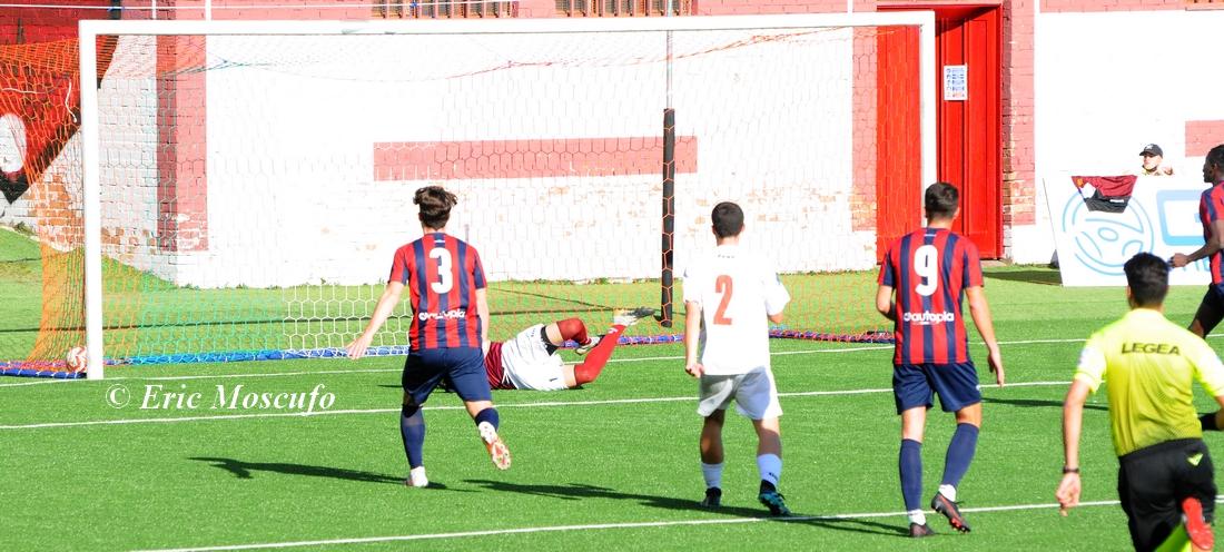 Il 3-0 di Candellori