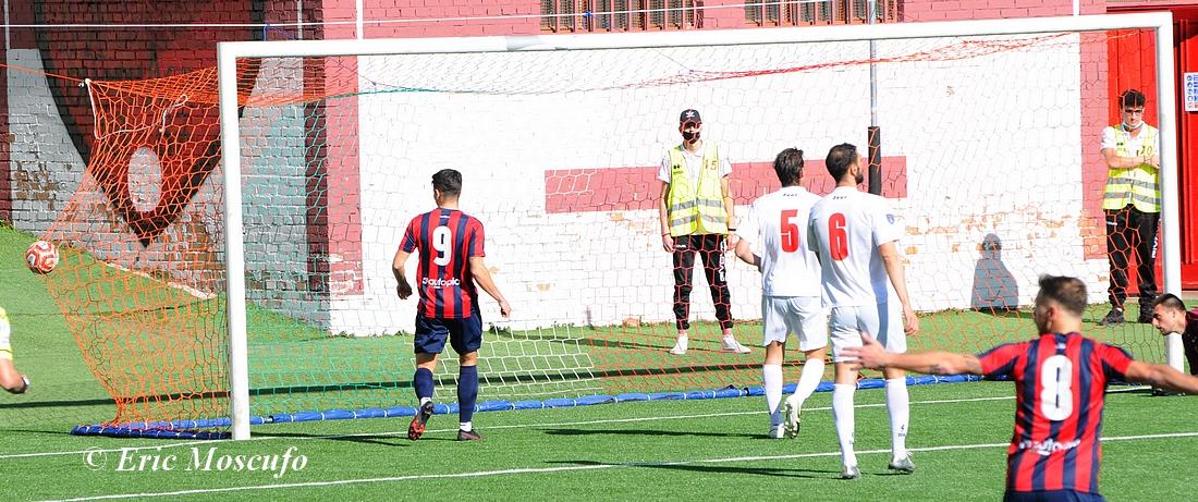 Il gol dell'1-0 di Vitali