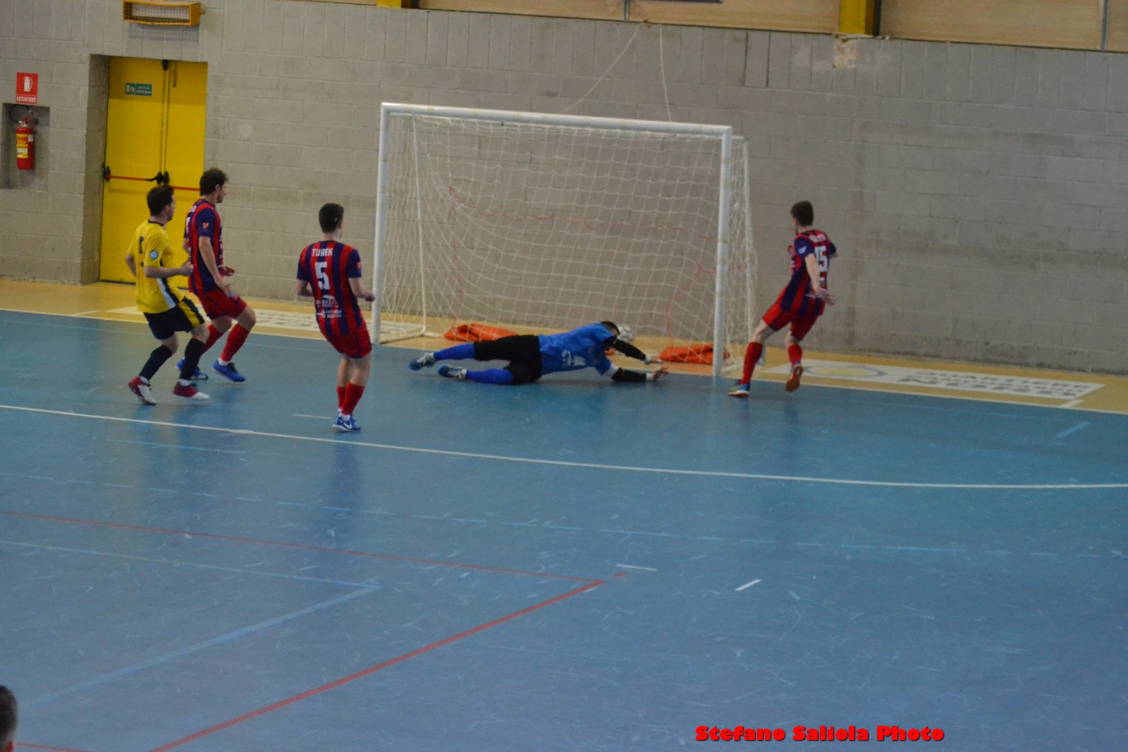 Il gol del 3-1 di Debetio