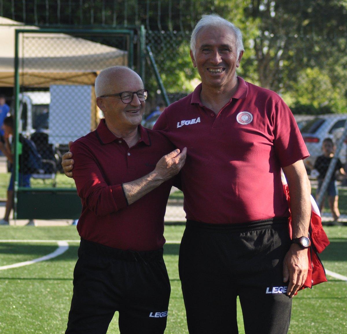 Antonio Romagnoli e Giovanni Marsilio