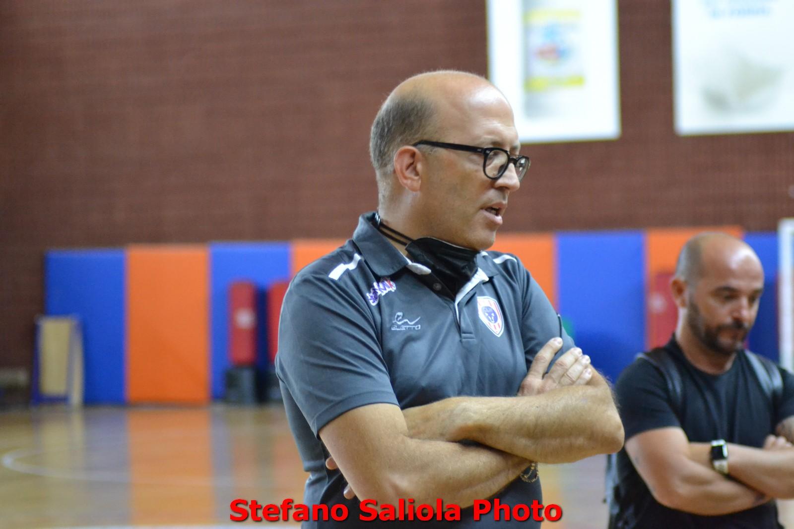 Il team manager De Lisio