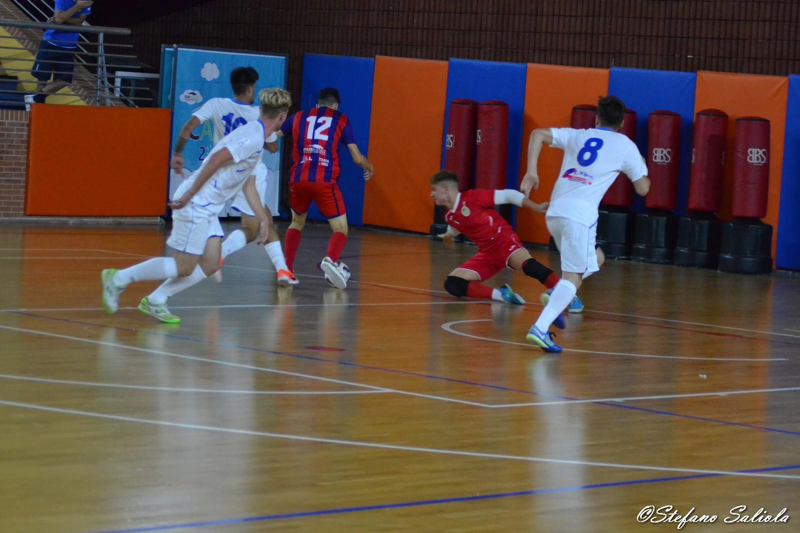 Luquinhas realizza il 2-1 contro la Tombesi